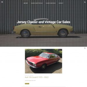 Classic and vintage car sales in Jersey